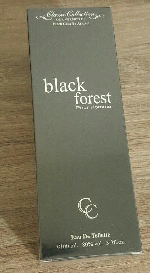 Black Forest - 3.3 FL.OZ. - Impression of Black Code by Giorgio Armani #Unbranded
