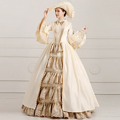 Steampunk®Georgian Victorian Party Dress Marie Antoinette Wholesalelolita Rococo Princess Evening Dress 4690261 2016 – $373.22