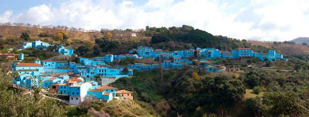 """Juzcar, Spain, a.k.a. """"Smurf Town"""""""