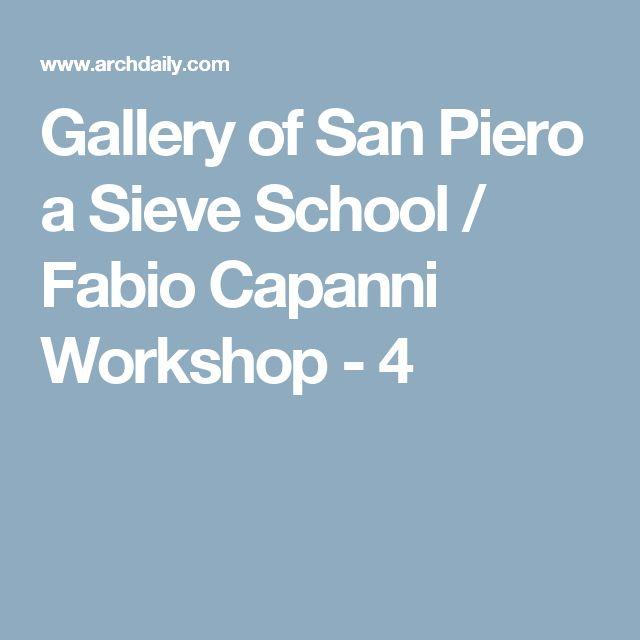 Gallery of San Piero a Sieve School / Fabio Capanni Workshop - 4