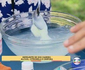Creme a base de cânfora - É de Casa (Foto: TV Globo)