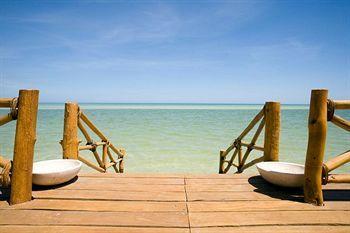 Beach/Ocean View at LAS NUBES DE HOLBOX, Holbox- Mexico. #Mexico