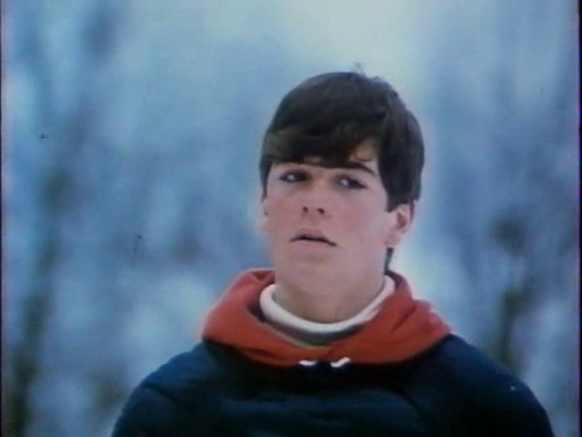 Yannick Bisson as Toby McTeague...loved that movie ...