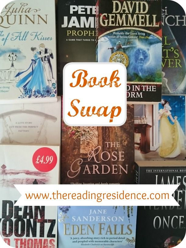 My #BringBackPaper Book Swap is now live!