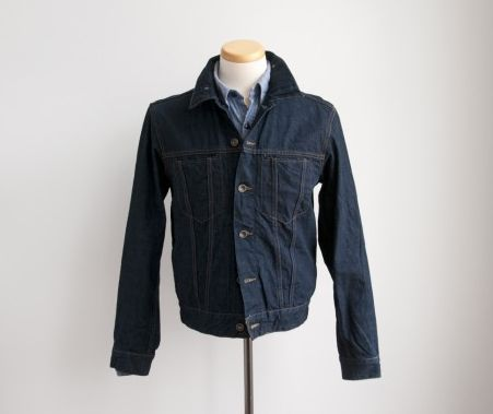 Trim Denim Jacket