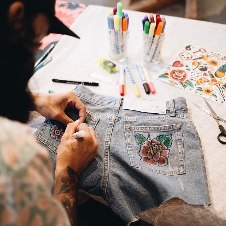 "85.5k Likes, 181 Comments - Urban Outfitters (@urbanoutfitters) on Instagram: ""How do you #UODenim? Join us at select UO stores tomorrow for custom embroidery on your new BDG…"""