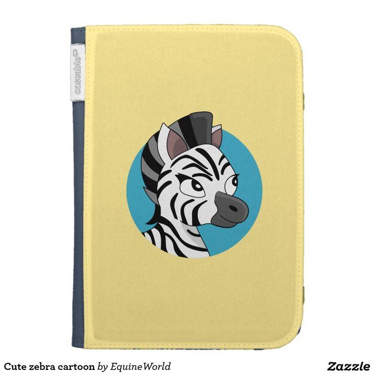 Cute zebra cartoon kindle 3G cover