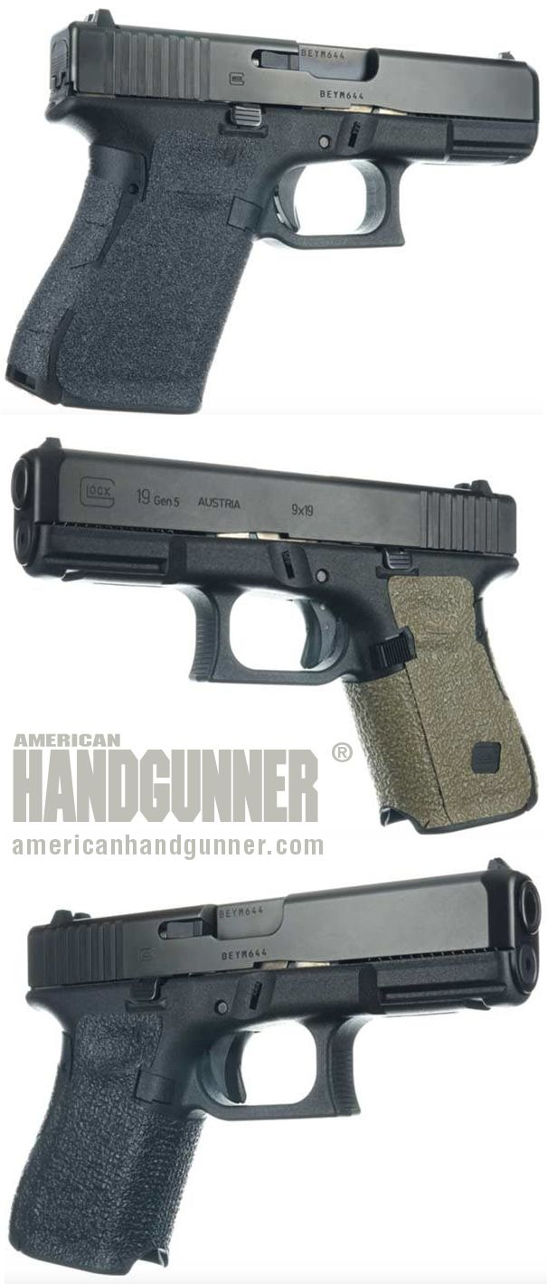 EXCLUSIVE: Talon Grips | By Tank Hoover | Grip Gripes? | Proper grip is the cornerstone to good shooting. It's what connects the gun to your body, for crying out loud! Without proper grip, everything else is out of plumb. These from Talon Grips should help restore balance ... | © American Handgunner 2018