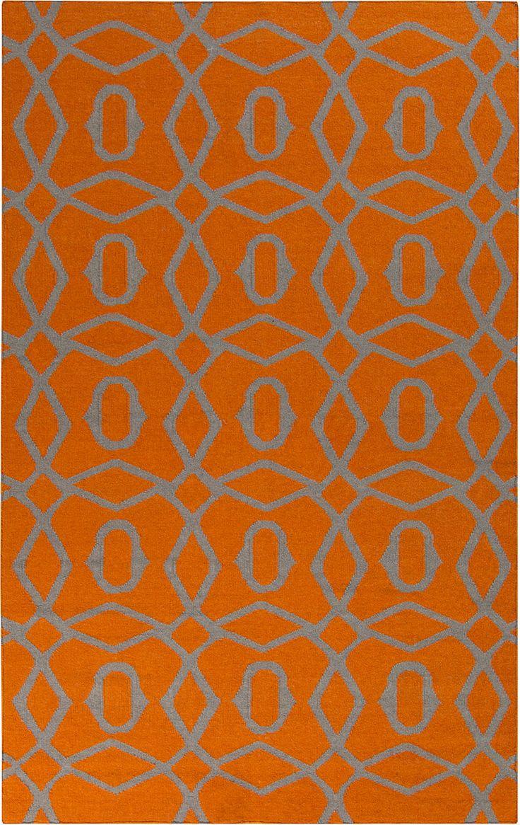 best  orange rugs ideas on pinterest  traditional rugs orange  - frontier ft orange rug from the bauhaus minimal design rugs iicollection at modern