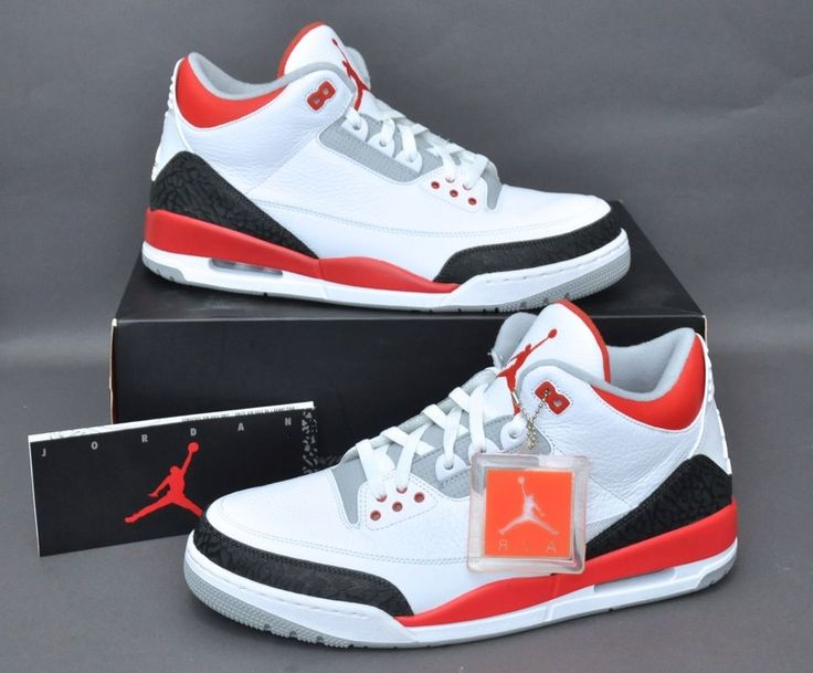 DS NIKE AIR JORDAN 3 III RETRO
