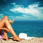 Elige el mejor bronceador y protégete del sol
