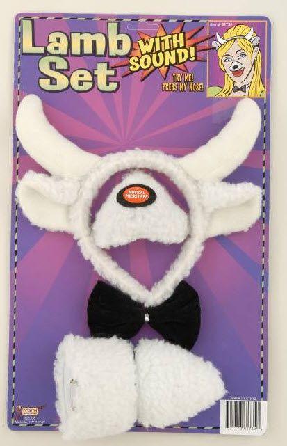 Lamb Costume Kit - Sale Price: $21.99