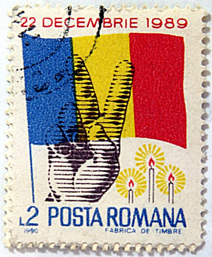 Romania.  REVOLUTION OF DEC 22, 1989.  Scott 3594 A1026, Issued 1990 Jan 8, Photogravured, Perf. 13 1/2, L2.