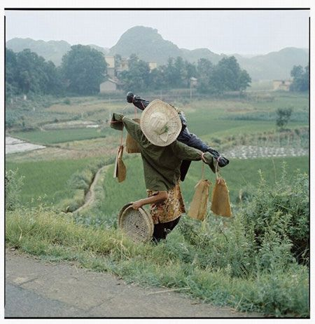 """ART CONTEMPORAIN CHINOIS: Luo Dan """"China : on the road"""" photographe chinois"""