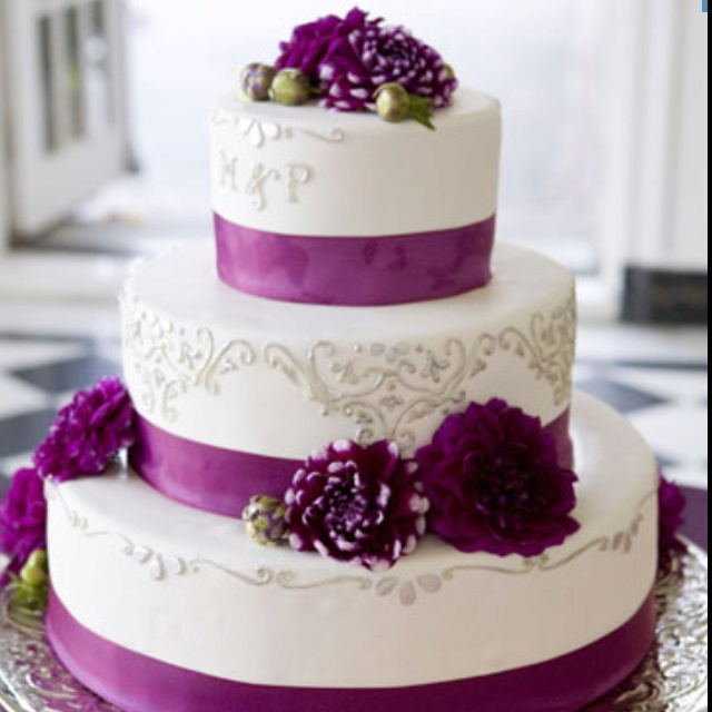 Love this cake! But blue not purple