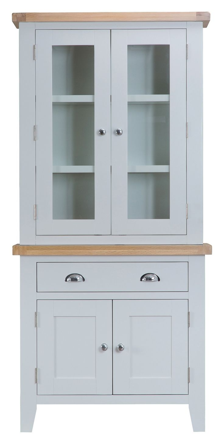 Bonsoni Tulsa Grey Small Hutch by Kaldors  This collection can be supplied with aged brass effect handles as an optional extra.  https://www.bonsoni.com/tulsa-grey-small-hutch-by-kaldors