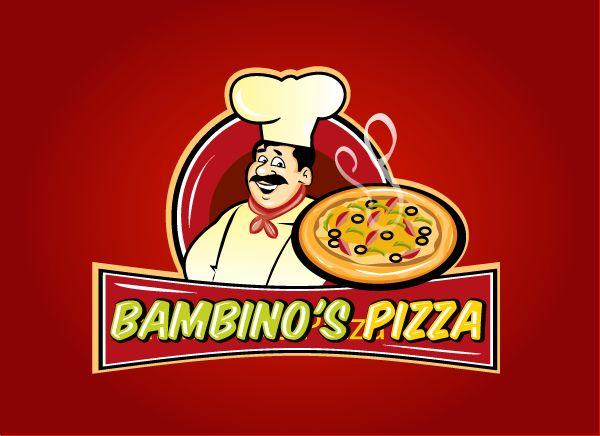 Bambino's Pizza Logo Design