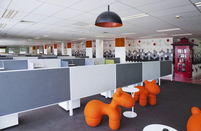 COOL OFFICE SPACE DESIGN-WellDoneStuff.ComInterior Design, Building, Offices Design, Architecture Interiors, Corporate Interiors, Interiors Design Six, Offices Spaces Design, Animal Seats, Offices Interiors