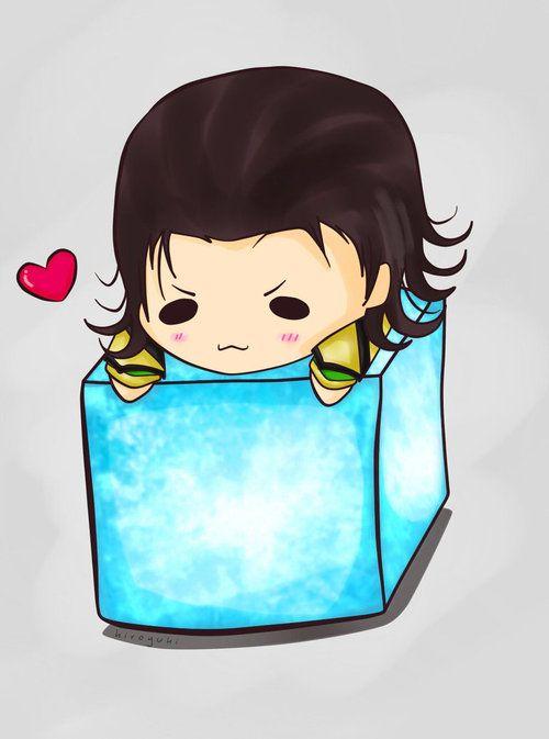 Loki loves the tesseract.