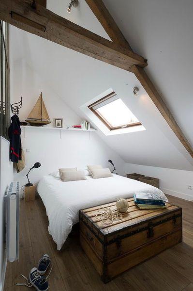 Une chambre dans les combles