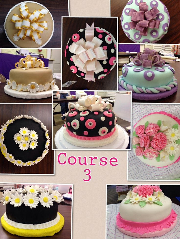 1000+ images about My Wilton Method Class Cakes on ...