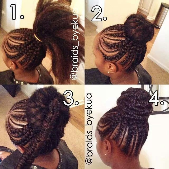 cornrows with &
