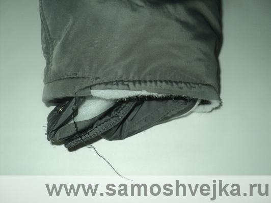 укоротить рукава куртки