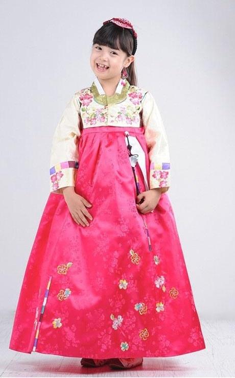 Traditional Korean Girl's Hanbok
