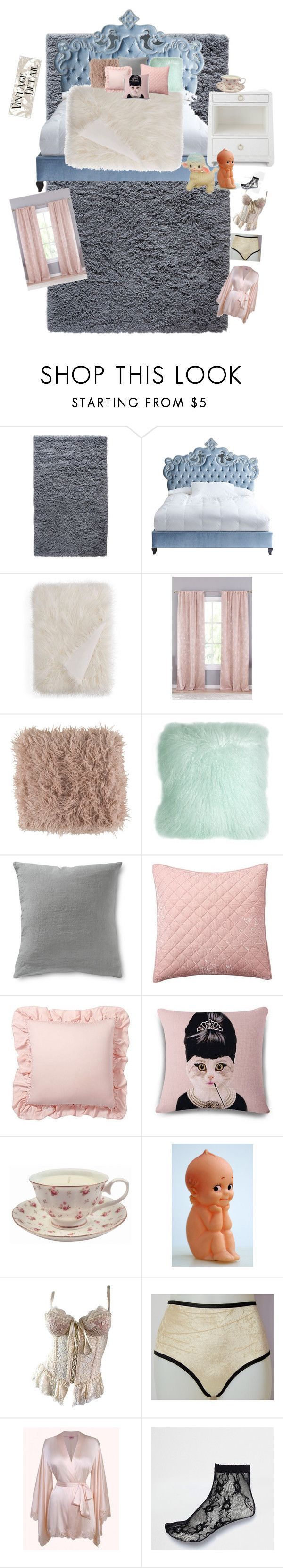 """""""Melanie martinez inspired room❤"""" by izzymaster ❤ liked on Polyvore featuring interior, interiors, interior design, home, home decor, interior decorating, Haute House, Hudson Park, Lala + Bash and Bungalow 5"""