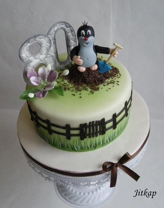 Krtek - Cake by Jitkap