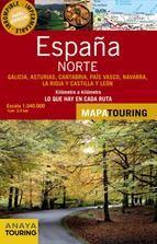norte de españa 2013: mapa de carreteras 1:340000 (desplegable)-9788499355573