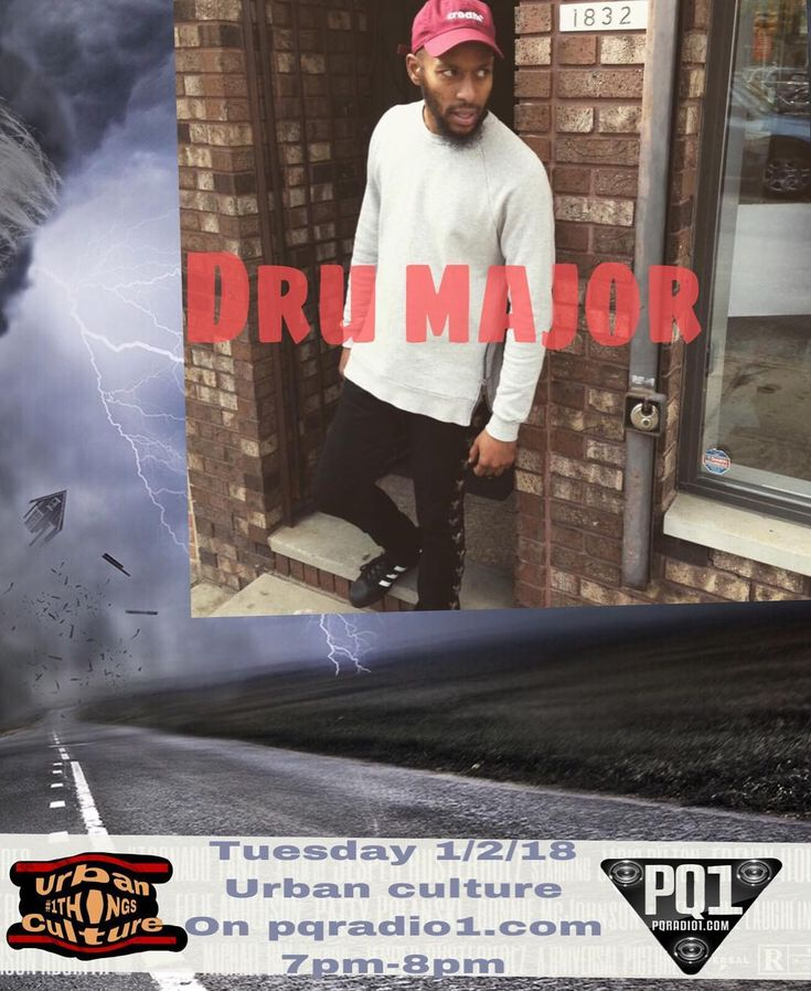 This Tuesday 7pm-8pm urban culture on @pqradio1.comlive @urbanculture89  He started off doing photos and a videographer for meek mill now he and a friend own a sneaker/clothing store @majorfilms215  #radio #pqradio1 #urbanculture #philly #theculture #live #wedoitfortheculture #station #hiphop #politics #life #pq #podcast #entertainment #tuesday #bet #vh1