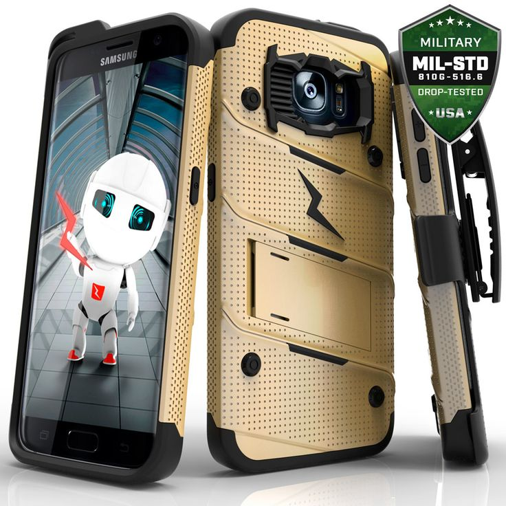 For Samsung Galaxy S7 Edge 5.5in Military Grade Drop-Tested Case