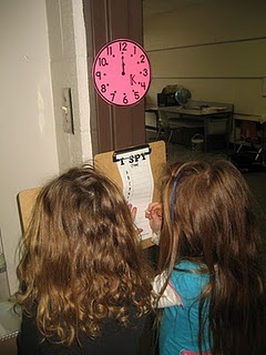 I Spy Telling Time, can you imagine a scavenger hunt with clocks all over the building that they must find and write the time down. Fun!