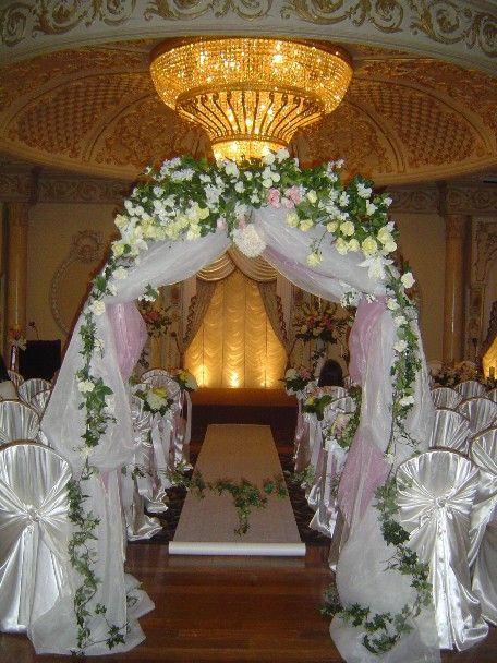 26 best images about wedding arches on pinterest my for Arch decoration pictures