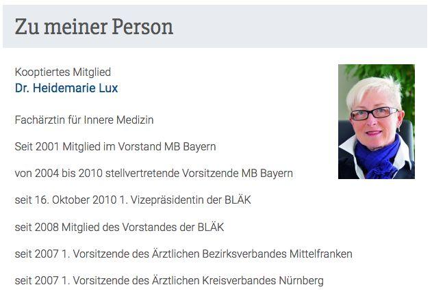 Dr. Heidemarie Lux (Kooptiertes Mitglied)
