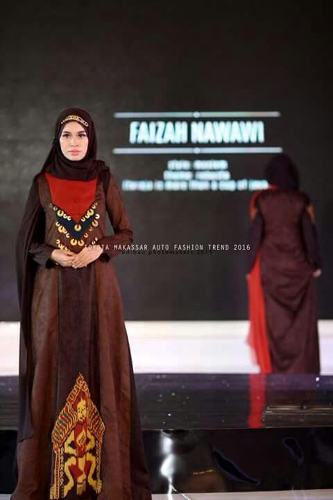 Etnic style abaya for nigth party with hijab