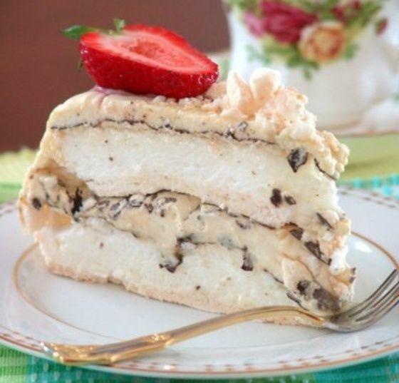 торт безе рецепт с фото