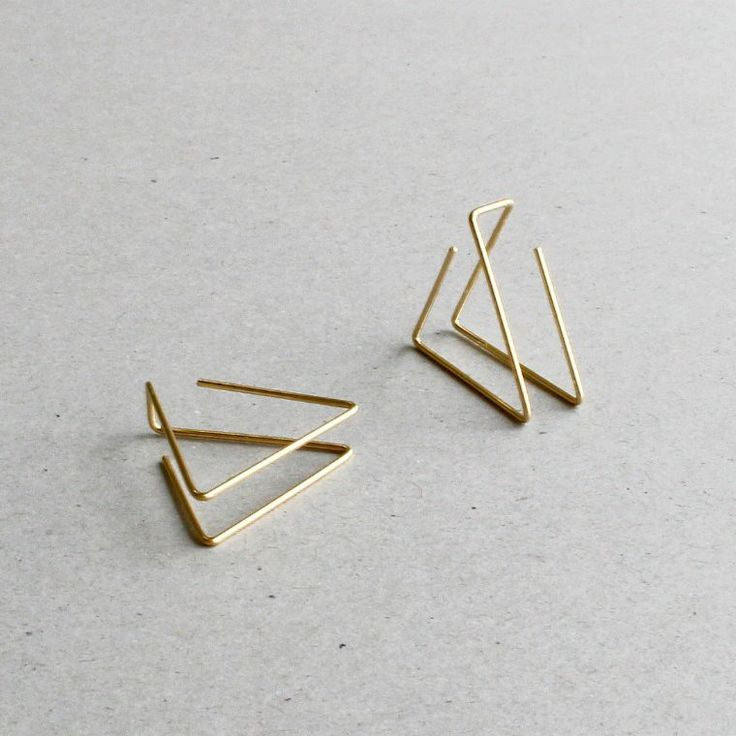 Architectural Pyramid Earrings – My Heavenly Atelier 5
