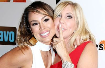 Kelly Dodd And Vicki Gunvalson Spill The Tea On RHOC Season 12 Drama!