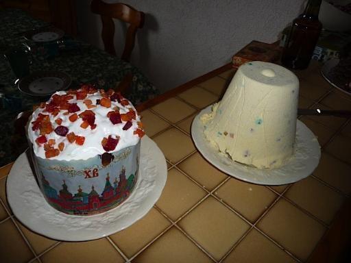 Recette de Paska  / gâteau de Pâques (Russie)