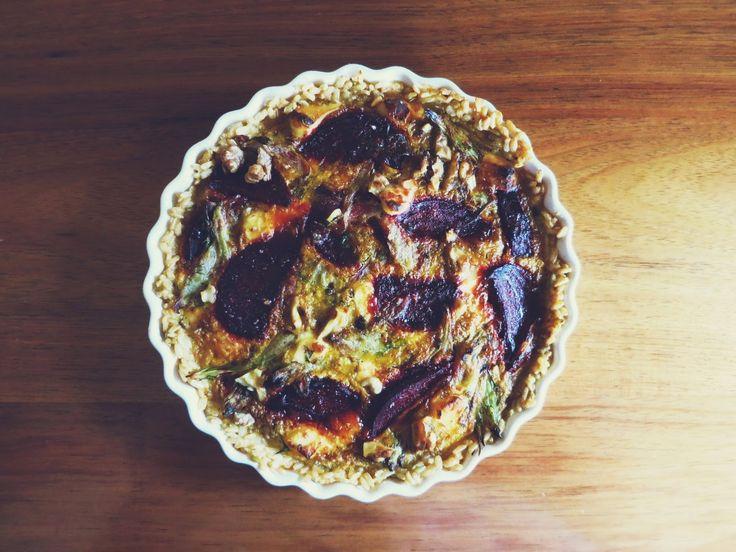 Friendly Little Kitchen: Balsamic Beetroot & Caramelised Fennel Tart ...