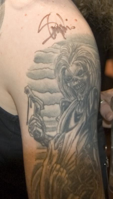 iron maiden killers tattoo of eddie from iron maiden pinterest tags irons and iron maiden. Black Bedroom Furniture Sets. Home Design Ideas
