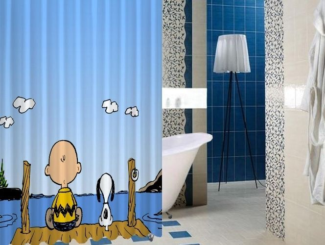 """Charlie Brown and Snoopy High Quality Custom Shower Curtain 60"""" x 72"""" #Unbranded #Modern #Unbranded #Modern #BestQuality #Cheap #Rare #New #Latest #Best #Seller #BestSelling #Cover #Accessories #Protector #Hot #BestSeller #2017 #Trending #Luxe #Fashion #Love #ShowerCurtain #Luxury #LimitedEdition #Bathroom #Cute #ShowerCurtain #CurtainGift"""