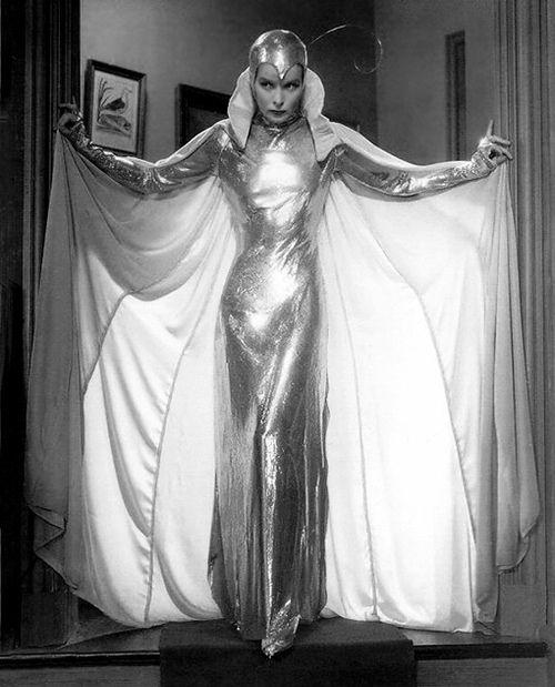 Katherine Hepburn 1933 costume  designed by  Howard Greer
