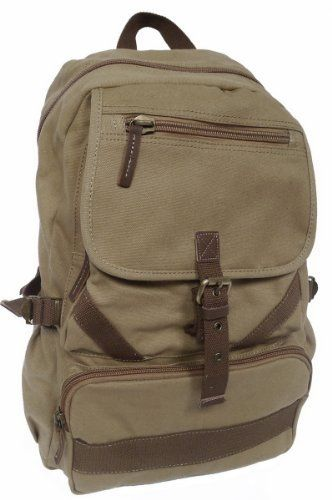 19' Mountain Hiking Sport Canvas Backpack * Wow! I love this. Check it out now! : Day backpacks