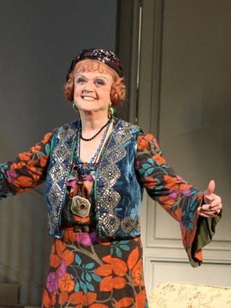 Nel 2014, all'età di quasi 89 anni, Angela Lansbury è tornata a teatro, a Londra, nei panni di un'eccentrica medium nella pièce Blithe Spirit (Spirito Allegro) di Noel Coward.