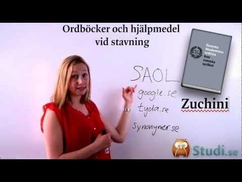 Svenska, studi.se, spellista, YouTube
