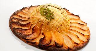 Receta de Tarta fina de pera del Bierzo