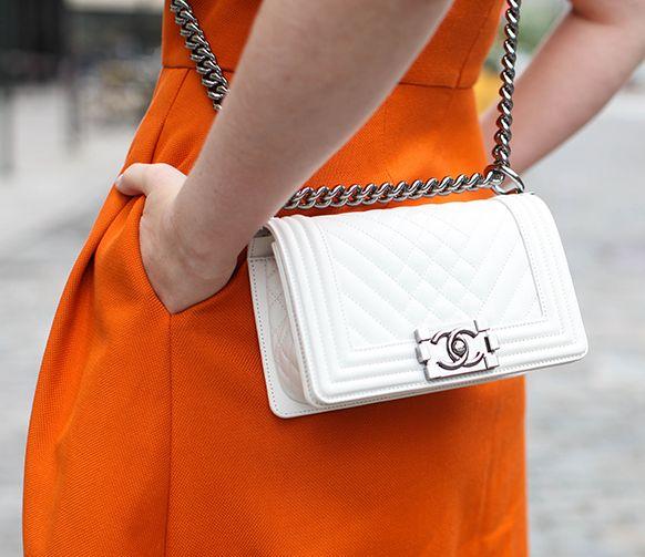 { Chanel boy bag }